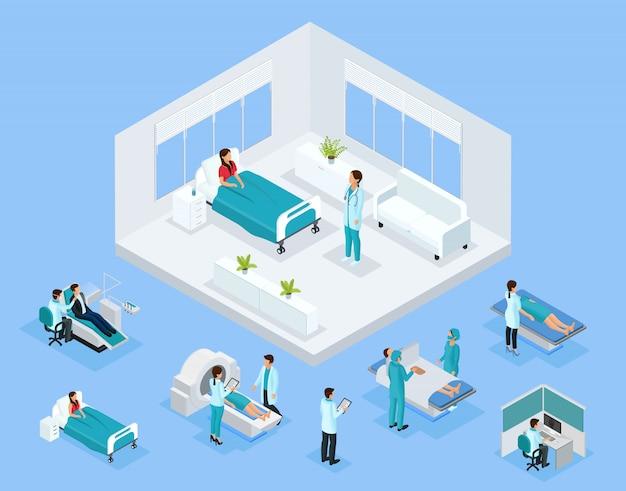 Concetto di assistenza sanitaria isometrica