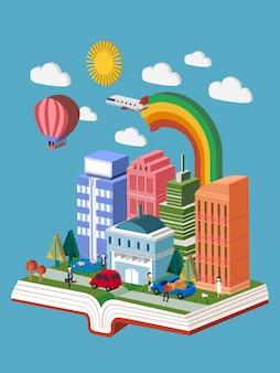 Isometrica del concetto di città della conoscenza