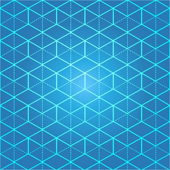 Linea isometrica griglia blu