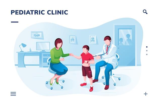 Schermo isometrico per applicazioni mediche o pediatriche
