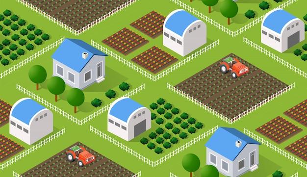 Villaggio isometrico