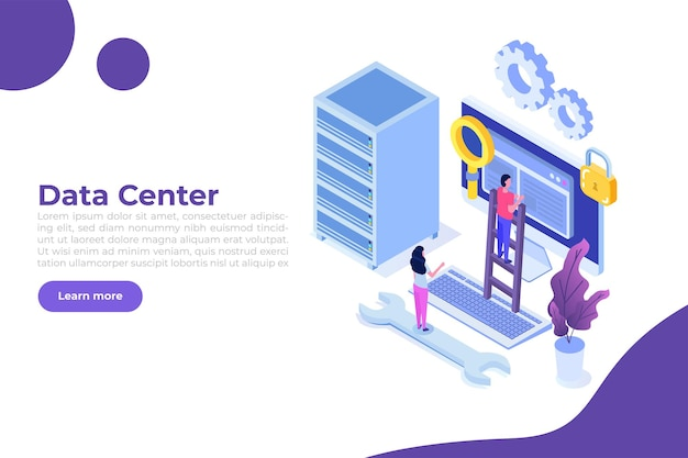Server degli amministratori it, banner di configurazione dei sistemi