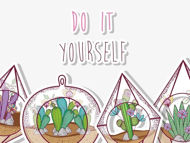 Concetto di giardinaggio fai da te