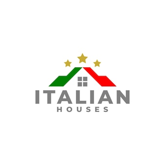 Logo della casa italiana per società di affari immobiliari.