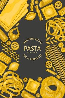 Modello struttura pasta italiana.