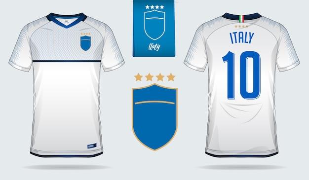 Italia maglia da calcio o modello kit calcio
