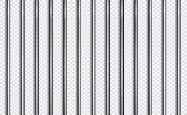 Reticolo o barre della prigione nello stile 3d
