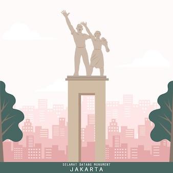 Jakarta indonesia landmark