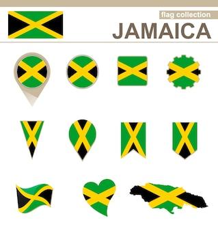 Giamaica flag collection, 12 versioni