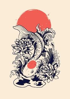 Koi giapponese