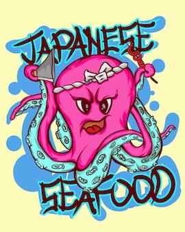 Polpo di mare giapponese