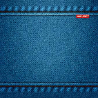 Jeans trama di colore blu. sfondo denim per il vostro disegno