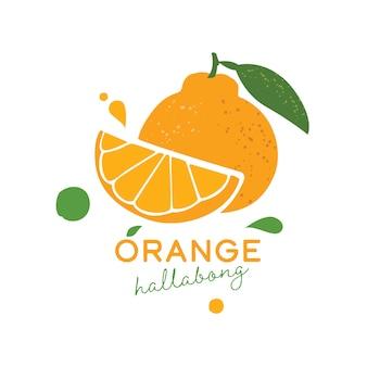 Hallabong arancione dell'isola di jeju
