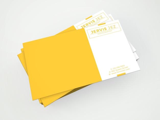 Jervis jez bussiness card template