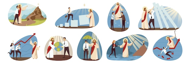 Il carattere religioso biblico di gesù cristo aiuta a proteggere