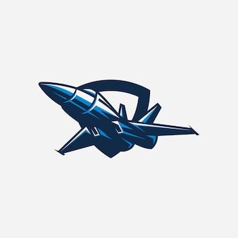 Design di caccia a reazione con vettore