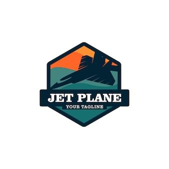 Logo aereo jet