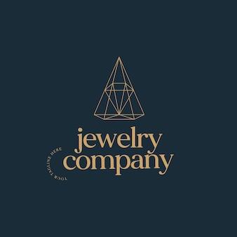 Ispirazione per il design del logo estetico dell'azienda di gioielli