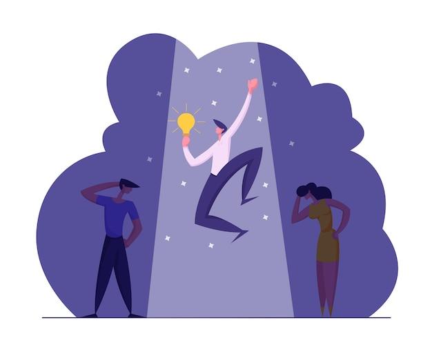 Illustrazione di concetto di reclutamento di affari di ricerca di lavoro