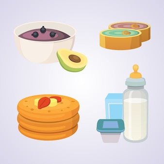 Succhi e puree per neonati