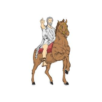 Giulio cesare mitologia romana