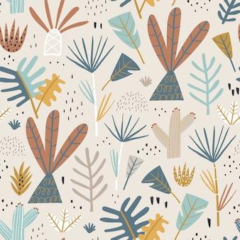 Giungla seamless pattern.