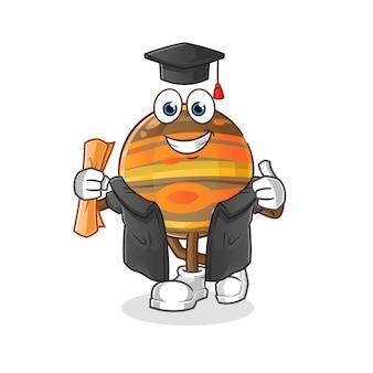 Illustrazione di laurea di giove