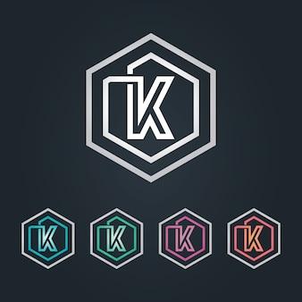 Logo k esagone