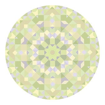 Sfondo vettoriale caleidoscopio. modello geometrico astratto basso poli. sfondo chiaro triangolo. elementi geometrici del triangolo. sfondo astratto triangolare. caleidoscopio geometrico di vettore.