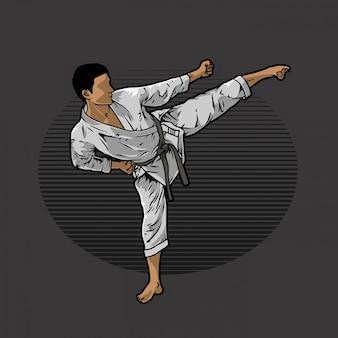Calcio di karate