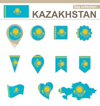 Collezione di bandiere del kazakistan, 12 versioni