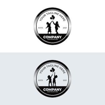 Ispirazione per i disegni del logo dei sogni dei bambini