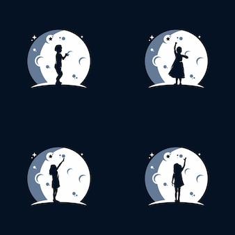Logo dei sogni dei bambini