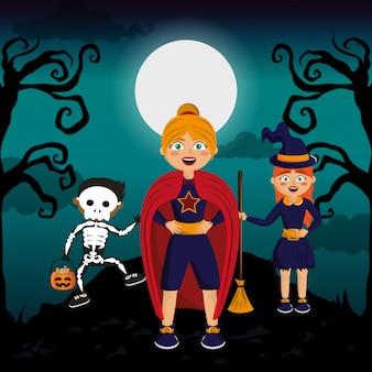 Bambini e halloween