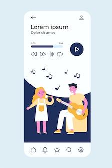 Illustrazione di banda musicale per bambini