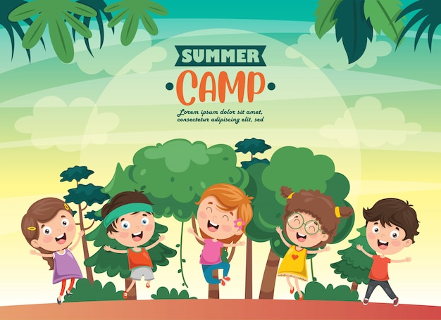Campo estivo per bambini