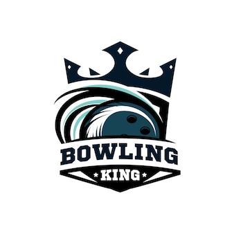 Logo king bowling