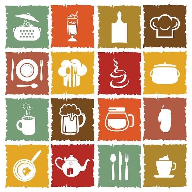 Icone della cucina
