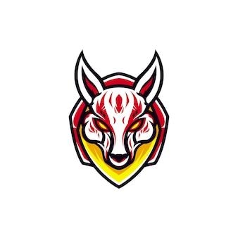 Kitsune mascotte