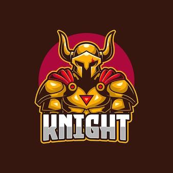 Modello logo knight esports