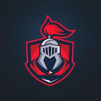 Modelli di logo knight esports