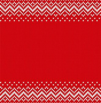 Trama lavorata a maglia. ornamento geometrico lavorato a maglia