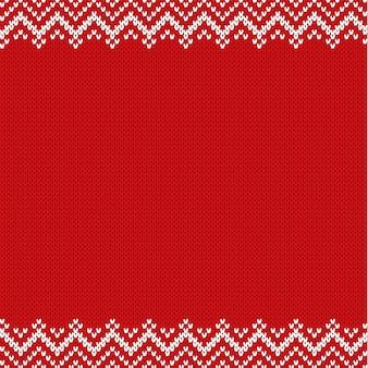 Reticolo strutturato lavorato a maglia per il vostro disegno nell'illustrazione di stile fair isle