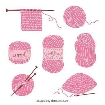 Elementi di lavoro a maglia