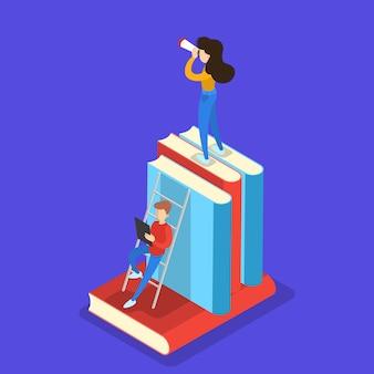 Conoscenza e concetto di educazione. imparare online all'università