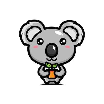 Il design koala porta semi di alberi