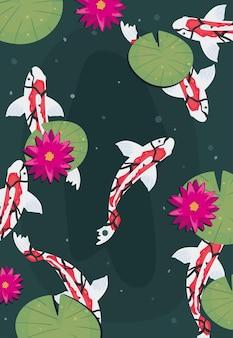 Pesci e piante koi