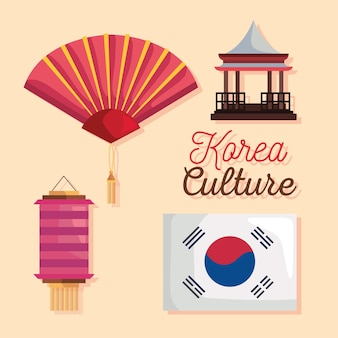 Cultura coreana quattro icone