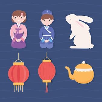 Set di cultura coreana