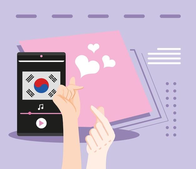 Amore per la musica coreana